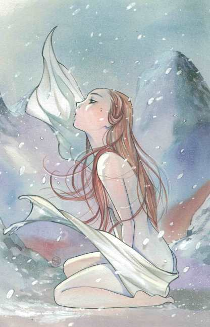 Cimmerian Frost-Giants Daughter #1 1:10 Peach Momoko Virgin Variant Ablaze 2020