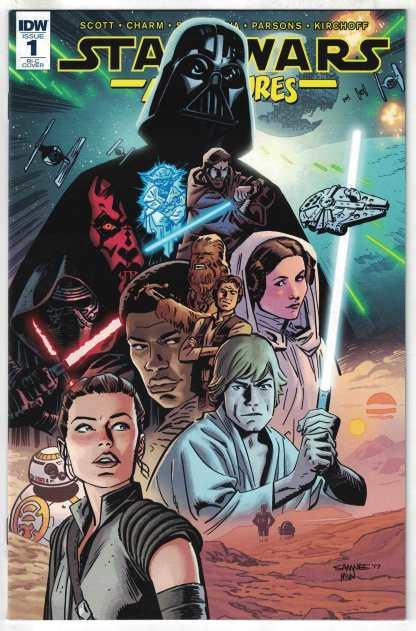 Star Wars Adventures #1 1:50 Chris Samnee RI-C Variant IDW 2017 VF/NM
