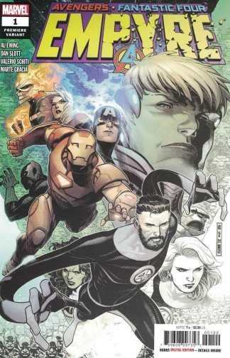 Empyre #1 Jim Cheung Premiere Partial Sketch Variant Marvel Avengers FF 2020