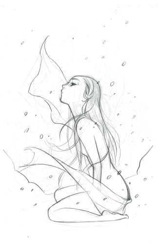 Cimmerian Frost Giants Daughter #1 1:20 Momoko Sketch Variant Ablaze 2020