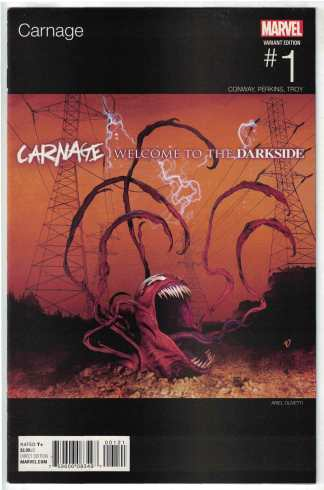 Carnage #1 Ariel Olivetti Hip Hop Variant Marvel 2015 ANAD VF/NM