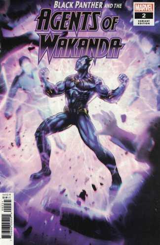 Black Panther and Agents of Wakanda #2 1:10 Lan Medina Game Variant Marvel 2019