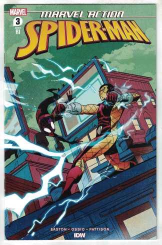 Marvel Action Spider-Man Vol 2 #3 1:10 Sanford Greene Variant IDW 2020 VF/NM