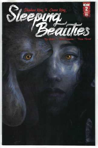 Sleeping Beauties #2 1:10 Jana Heidersdorf Variant IDW Stephen King 2020 VF/NM