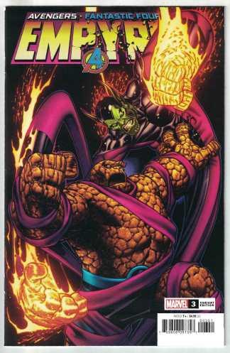 Empyre #3 1:50 Ed McGuinness Variant Marvel 2020 Avengers FF VF/NM