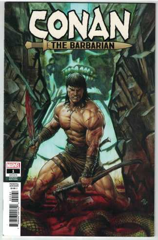 Conan the Barbarian #1 1:50 Adi Granov Variant Marvel 2018 VF