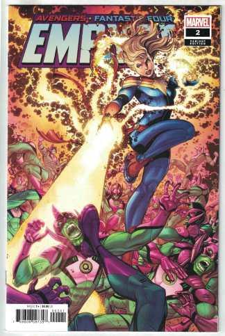 Empyre #2 1:50 Nick Bradshaw Variant Marvel 2020 Avengers FF VF/NM