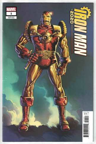 Iron Man 2020 #1 1:100 Herb Trimpe Barry Windsor-Smith Variant Marvel VF/NM