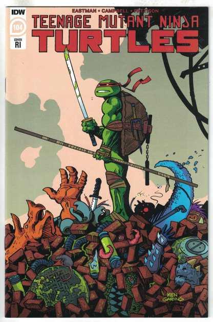 Teenage Mutant Ninja Turtles #104 1:10 Ken Garing Variant IDW TMNT VF/NM