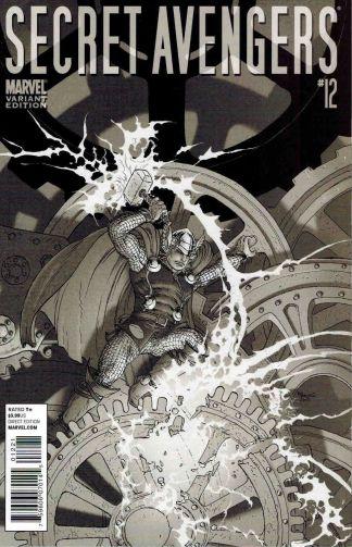 Secret Avengers #12 Thor Goes Hollywood Variant