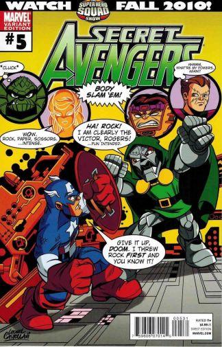 Secret Avengers #5 Super Hero Squad Variant