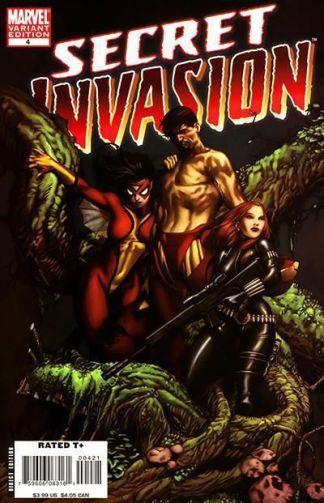 Secret Invasion #4 Steve McNiven Color Variant