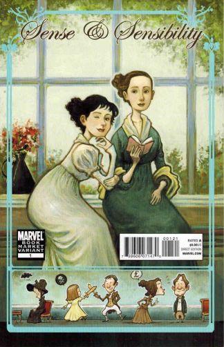Sense & Sensibility #1 Book Market Variant Jane Austen