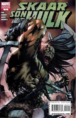 Skaar: Son of Hulk #4 Carl Pagulayan Variant