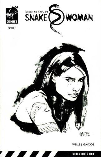 Snake Woman #1 Director's Cut Michael Gaydos Sketch Variant