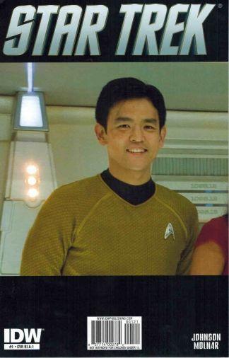 Star Trek #1 A-1 Cast Photo Variant John Cho