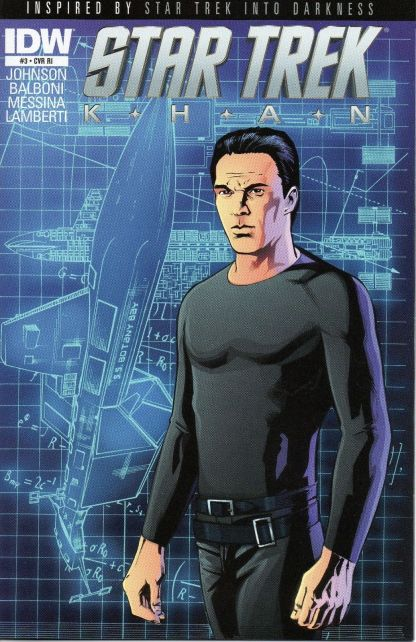 Star Trek: Khan #3 Retailer Incentive Variant