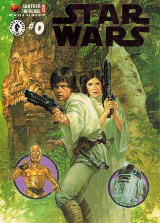 Star Wars #0 Another Planet Foil Exclusive Collecting Original Marvel Series