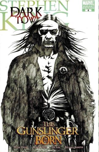 Stephen King Dark Tower Gunslinger Born #2 1:50 Jae Lee Sketch Variant Marvel
