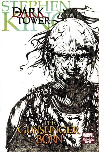 Stephen King Dark Tower Gunslinger Born #3 1:50 Jae Lee Sketch Variant Marvel
