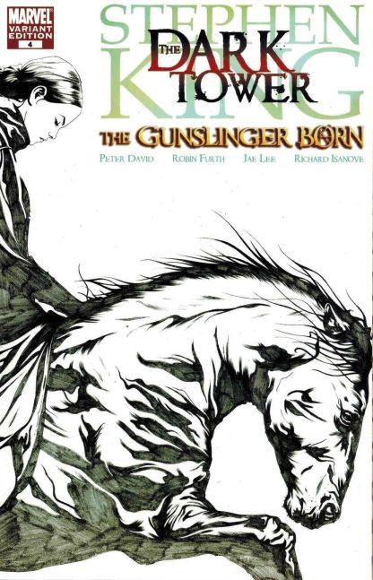 Stephen King Dark Tower Gunslinger Born #4 1:50 Jae Lee Sketch Variant Marvel