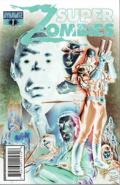 Super Zombies #1 Negative Art Variant