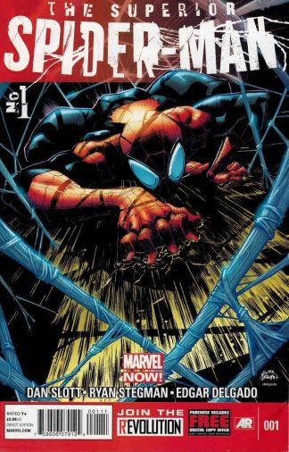 Superior Spider-Man #1 Ryan Stegman 1st Printing Marvel NOW 2013