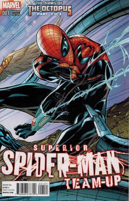Superior Spider-Man Team-Up Special #1 J. Scott Campbell Variant