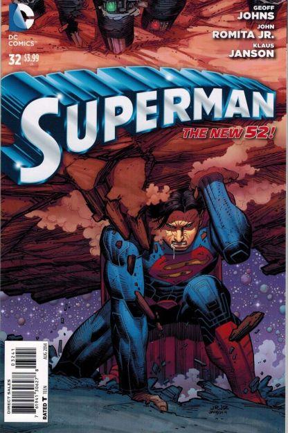Superman #32 1:100 John Romita Jr. Variant DC New 52 Geoff Johns