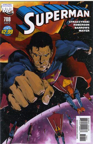 Superman #708 Trevor Hairsine Variant