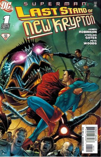 Superman: Last Stand of New Krypton #1 Marcos Marz Variant