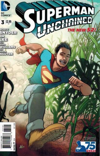 Superman Unchained #3 Aaron Kuder New 52 Action Variant Jim Lee Scott Snyder