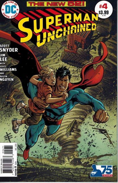 Superman Unchained #4 Jose Luis Garcia-Lopez Bronze Age Variant