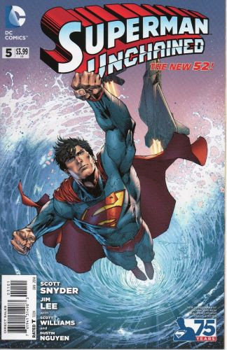 Superman Unchained #5 Ardian Syaf New 52 Superman Variant