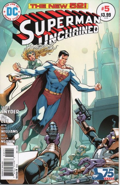 Superman Unchained #5 Barry Kitson Bronze Age Variant