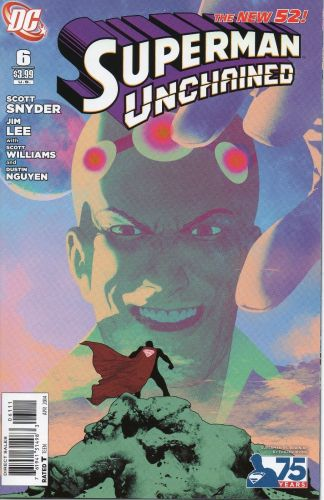 Superman Unchained #6 Superman vs. Braniac Frazier Irving Variant