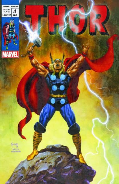 Thor #1 Joe Jusko Ultimate Comics Exclusive Donny Cates 2020 Vintage Variant 2000 Copy