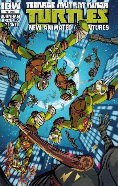 Teenage Mutant Ninja Turtles: New Animated Series #4 Adam Archer Variant