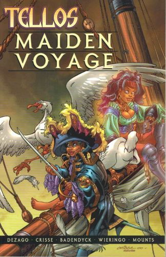 Tellos: Maiden Voyage Mike Wieringo Todd DeZago