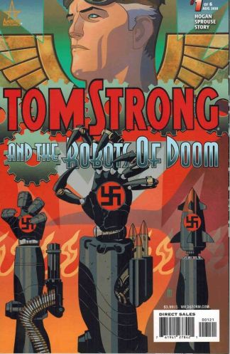 Tom Strong and the Robots of Doom #1 J.H. Williams III Variant