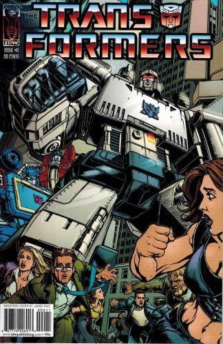 Transformers #0 Megatron James Raiz Variant