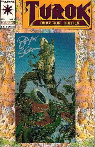 Turok: Dinosaur Hunter #1 Bart Sears Signed Variant