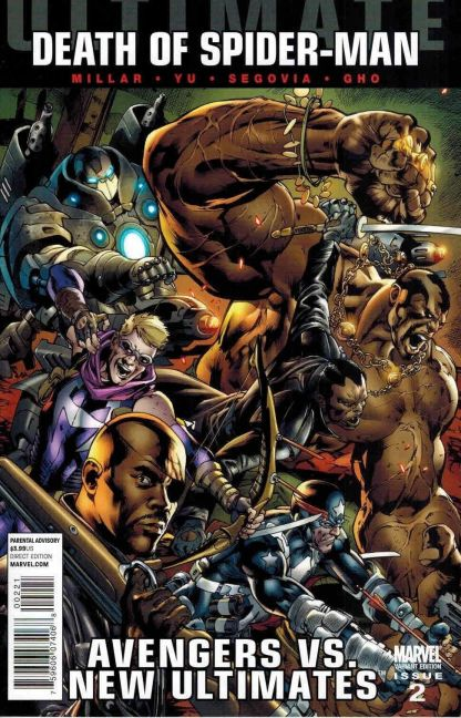 Ultimate Death of Spider-Man: Avengers vs. New Ultimates #2 Bryan Hitch Variant