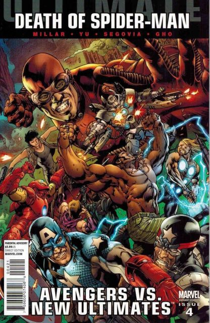 Ultimate Death of Spider-Man: Avengers vs. New Ultimates #4 Bryan Hitch Variant