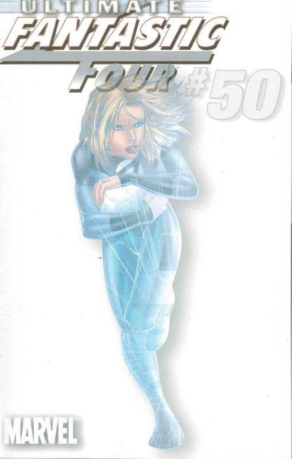 Ultimate Fantastic Four #50 White Invisible Woman Marko Djurdjevic Variant