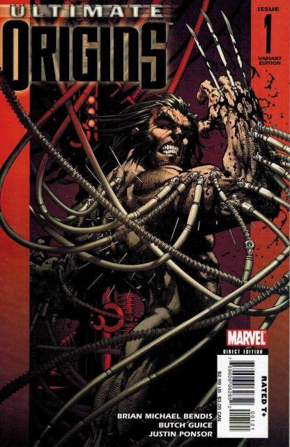 Ultimate Origins #1 Michael Turner Wolverine Color Variant Cover C Marvel 2008