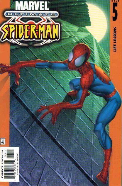 Ultimate Spider-Man #5 1st Print Bagley Bendis Hard To Find
