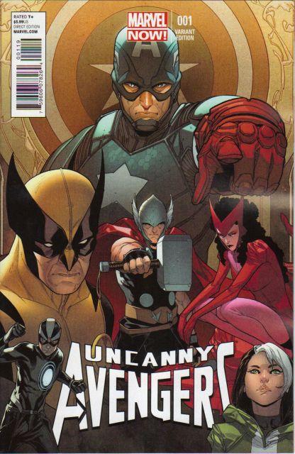 Uncanny Avengers #1 Sara Pichelli Variant