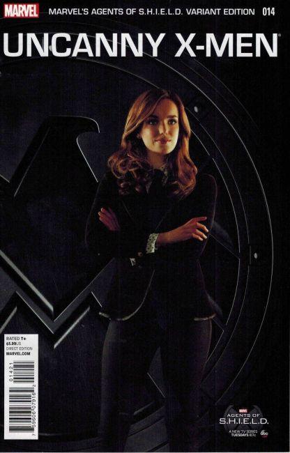 Uncanny X-Men #14 Agents of S.H.I.E.L.D. Photo Variant