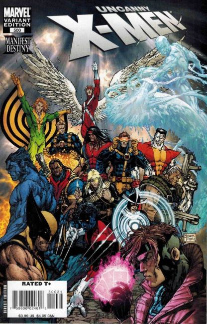 Uncanny X-Men #500 1:30 Michael Turner Variant HTF Rare